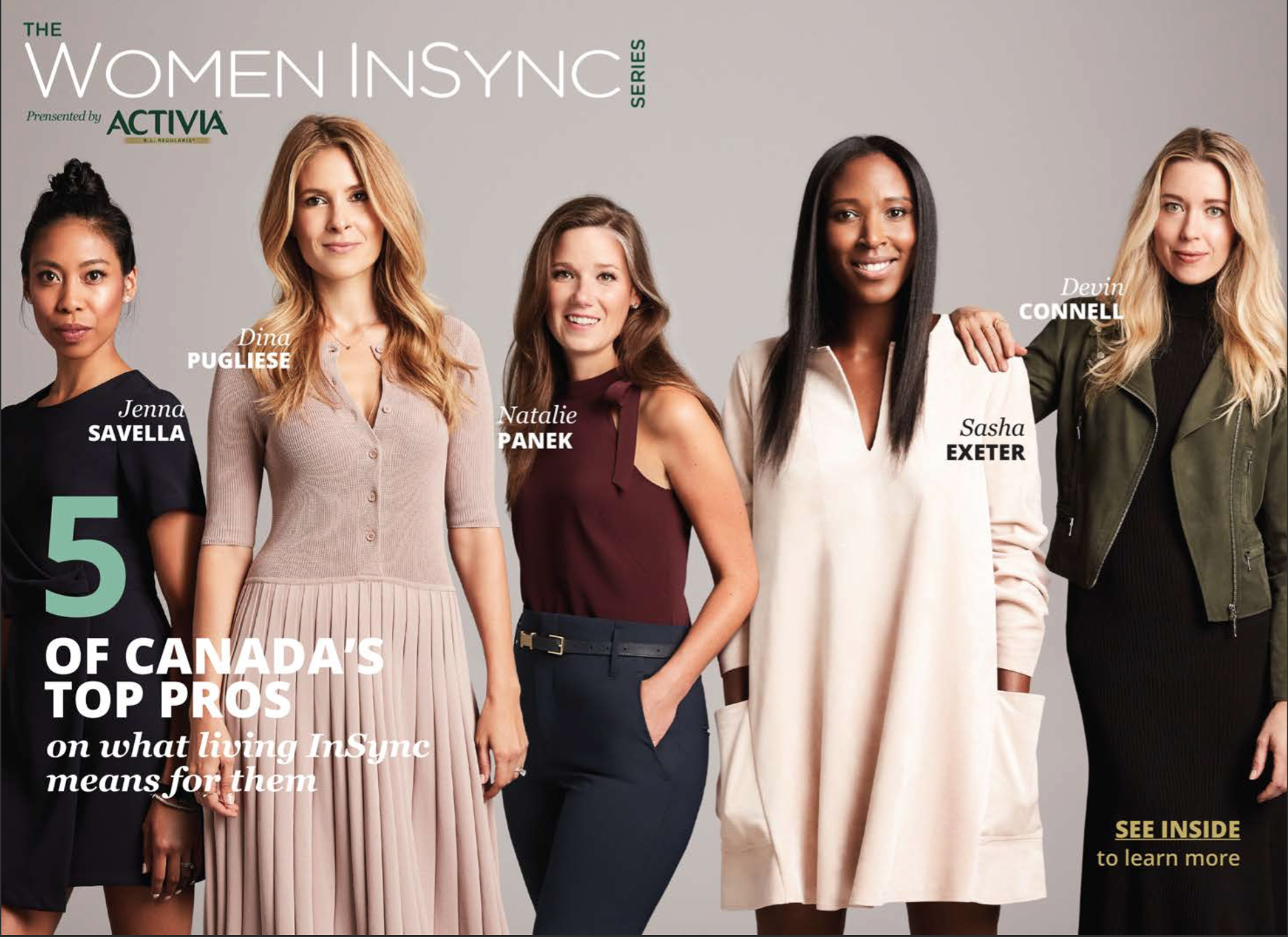 Sasha Exeter | Activia Women In Sync National Campaign