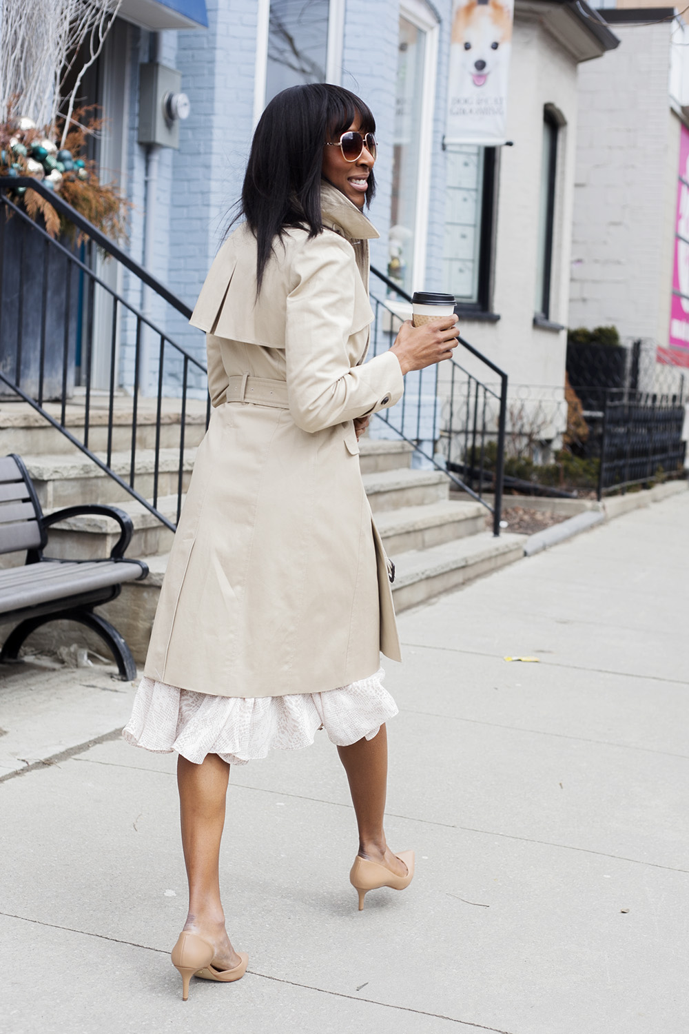 Ann Taylor Timless Trench Coat