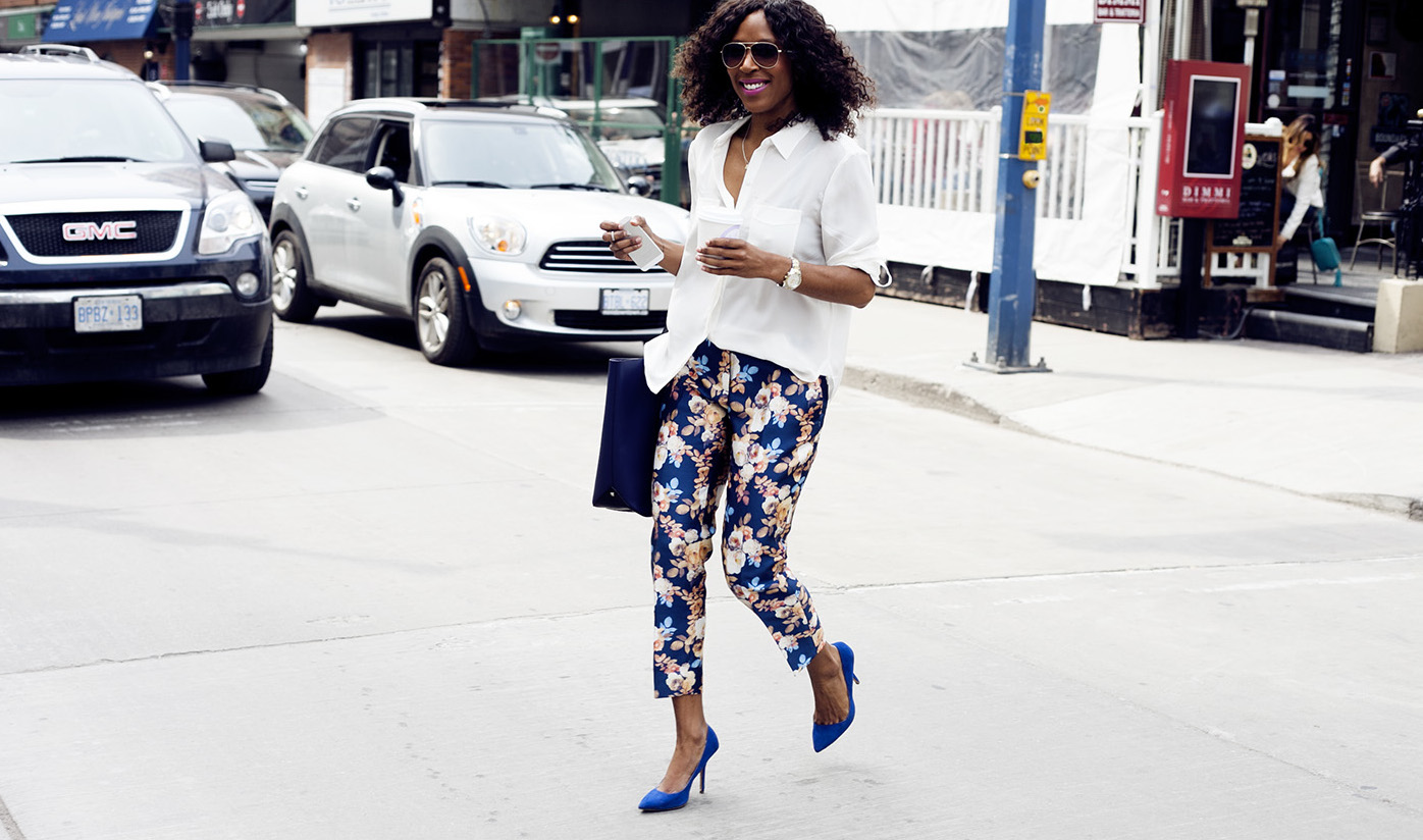 JCrew Brocade Floral Pants