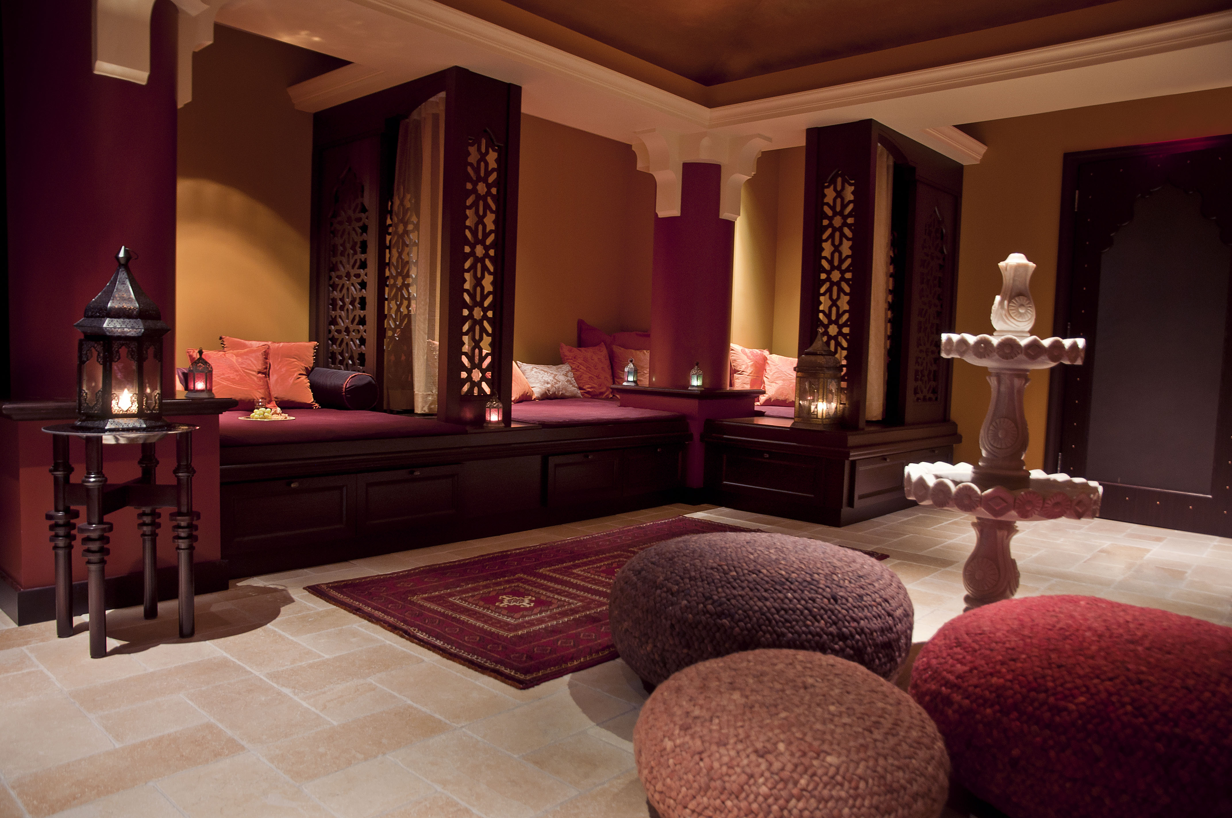 The miraj hamman spa by caudalie paris at the shangri la for Salon design paris