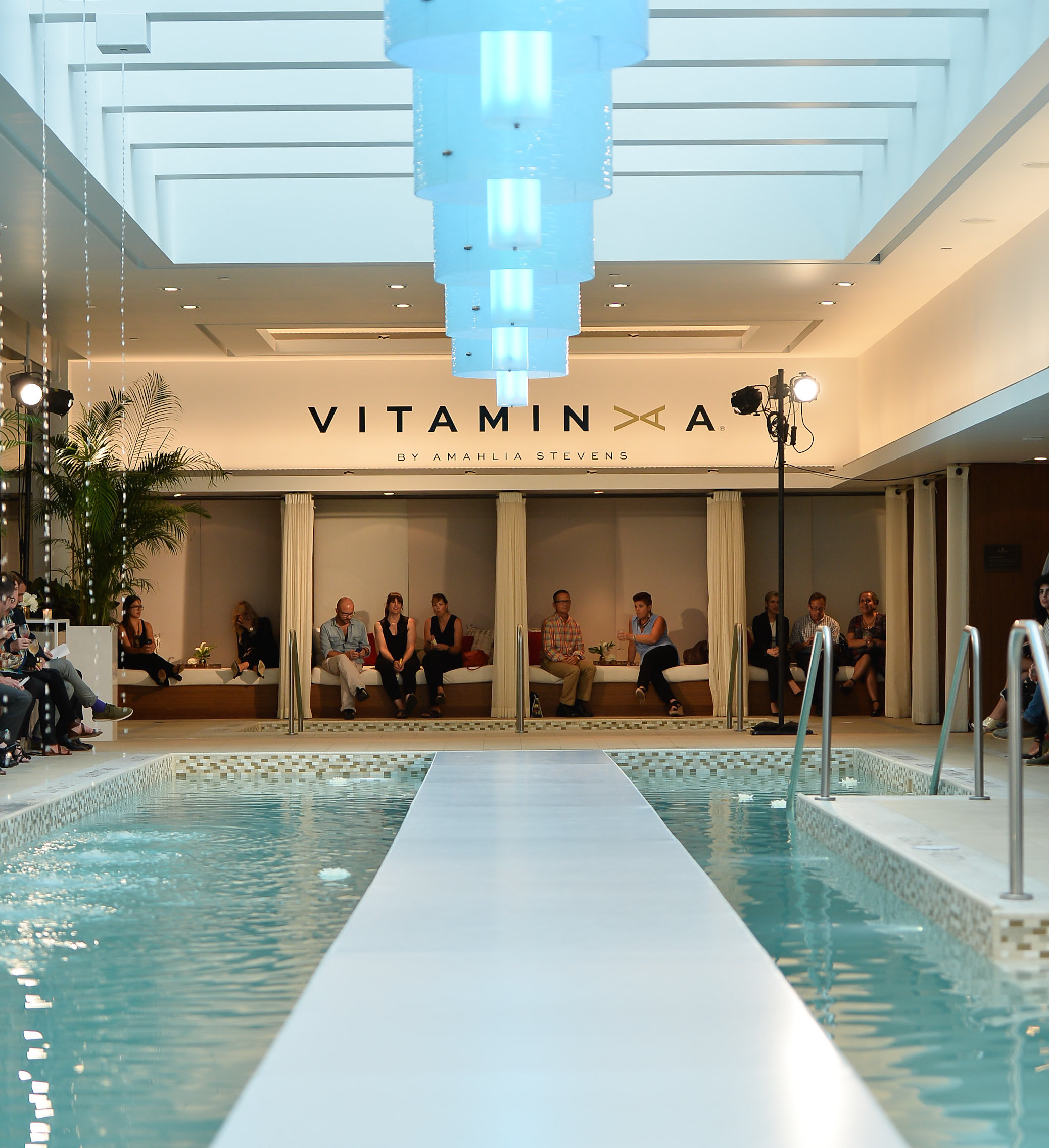 The 2015 vitamin a swimwear collection runway show so for Pool show toronto 2015