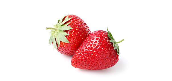 Strawberry Baking Soda Method