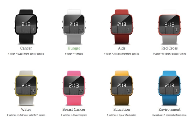 1:Face Watch Colours